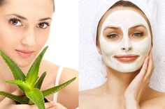 Skin care tips and ideas : 7 Aloe Vera Face Packs for Fair and Radiant Skin