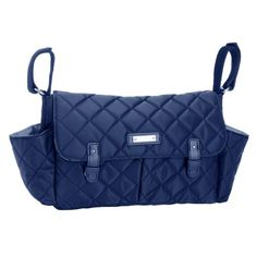 d92d2a28a057 Storksak Quilted Stroller Organizer - Navy  Quilted