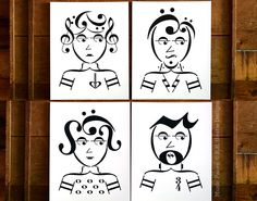 Music note art prints | ROCKER SERIES music art print package | Set of 4 prints | Music art | 5x7, 8x10, 11x14 Fine art print package by eeheatie on Etsy https://www.etsy.com/listing/196112447/music-note-art-prints-rocker-series