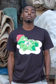 Clouded Bear T Shirt in Black - $32.00 - www.AnotherEnemy.com - Another Enemy