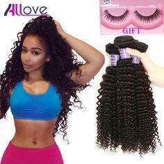Cabelos encaracolados malaio Afro Cabelo Encaracolado Kinky 3 Bundles Lot 7A Não Transformados Malásia Kinky Curly Virgem Cabelo Extensões de Cabelo Humano
