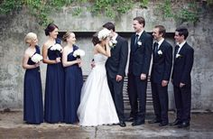 Great tips on the blog on How to Choose Your Bridal Party ~ #wedding advice #tips #tricks