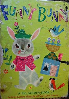 Vintage Kids' Books My Kid Loves: Funny Bunny
