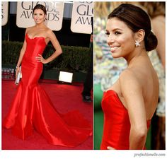 Never worn, never altered. Gorgeous Reem Acra gown worn by Eva Longoria. Waiting to be customized to perfectly fit your body.