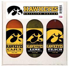 Iowa Hawkeyes NCAA Grilling Gift Set...