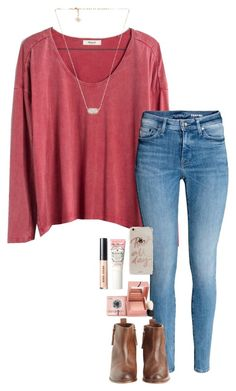 """do you have any pets?"" by gabyleoni on Polyvore featuring Madewell, Hoss Intropia, Sonix, Kendra Scott, Bobbi Brown Cosmetics, Benefit and Too Faced Cosmetics"