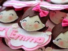 keçe harfli isim yazılı bebek mevlüt şekeri, kız bebekler için bebek figürü