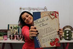 DIY | Faça Você Mesmo | Caixa Livro com Stencil | Livia Fiorelli | Life ...
