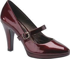 Bordeaux mary janes by Sofft $109.95.  i have a pair similar, much cheaper, and my favorite shoes