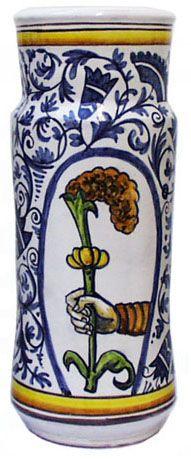 Ceramic Dictionary - by Susan Mussi: MAJOLICA: 5h - Twelve photos of Albarellos – Chemist jars
