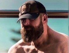 "grade-a-beef: ""(via TumbleOn) "" Scruffy Men, Hairy Men, Bearded Men, Bearded Tattooed Men, Beards And Mustaches, Bald With Beard, Beard Love, Red Beard, Great Beards"