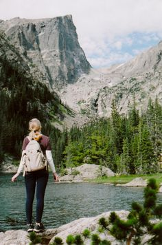 Dream Lake, Rocky Mountain National Park, Colorado: great Lace to hike, picnic, and take photos. Love this place!