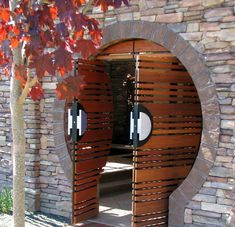 Moongate Courtyard - asian - patio - boise - by Breckon Land Design