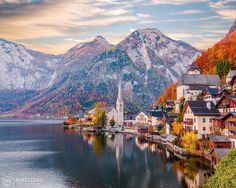 Hallstatt, Austria ➖➖➖➖➖➖➖➖➖➖➖➖➖ Photo by: ➖➖➖➖➖➖➖➖➖➖➖➖➖ Tag your best landscape photos with or send them in direct for a chance to be featured Travel Pictures, Travel Photos, Travel Tips, Mountain Love, Hallstatt, Wanderlust, Land Scape, Austria, Places To See