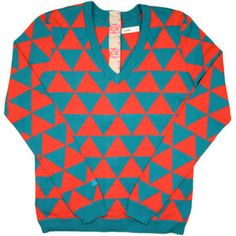 Caville Pyramids Women's Sweater from IN4MATION : Boundless NY
