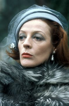 Maggie Smith.