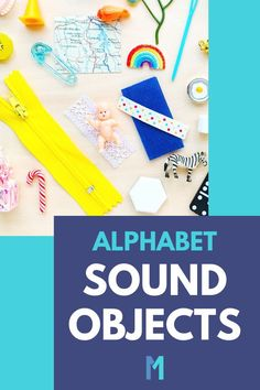 "The first step to teaching letter sounds is to help your 3 year old hear the alphabet sounds in words. Try ""I Spy"" with these Montessori language objects to help your preschooler hear the letter sounds at the beginning of words. Learning ABC Activities Preschool Homeschool Teaching Letters Sounds 