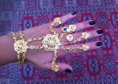 Drone Hand chain by RhaRha  available athttp://dronejewels.goodsie.com/