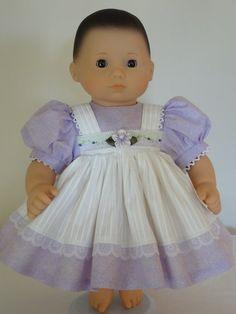 Dress for 15 inch Bitty Baby Doll by SewbeitsDollWear on Etsy