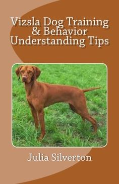Vizsla Dog Training & Behavior Understanding Tips by Julia Silverton. $4.99. Publisher: Createspace (March 24, 2012). 115 pages