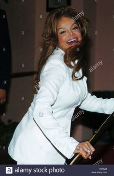 a2a73aedec8 Download this stock image: Latoya Jackson arriving at the First Annual  Crest Whitestrips Style Awards