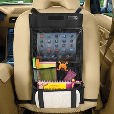 Backseat Car Organizer Lite. This would be great for our Easter car trip