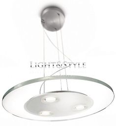Philips Ledino 69053/48/16 Lampa wisząca 3 x 7,5W, Light&Style