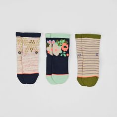 Stance Stance X Freshly Picked 3 Pack Socks. Pin-To-Win your Christmas wish list at Surfdome!