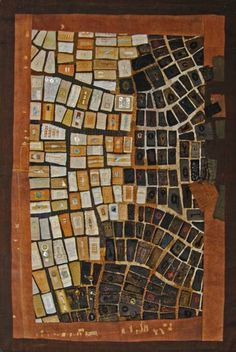'Tsunami, Japan' map quilt by Diane Savona. A collection of Japanese fabrics was used to suggest an aerial view of the disaster. Map Quilt, Textile Fiber Art, Textile Artists, Textiles, Japanese Fabric, Art Portfolio, Fabric Art, Aerial View, Surface Design