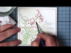 Watercolor Effect w/ Pen Tool Holders - Silver Bullet Cutters Webinar - YouTube