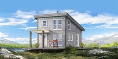 Rana Hytta: Q-Brick 1 Cottages, Gazebo, Brick, Outdoor Structures, Cabin, House Styles, Home, Decor, Pictures