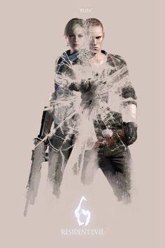 """Resident Evil 6 """"Run""""."""
