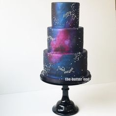 Age of Aquarius birthday cake by The Butter End Cakery , Cake Wrecks, Sweet 16 Birthday, Birthday Parties, Birthday Cakes, Geek Birthday, Birthday Recipes, 12th Birthday, Beautiful Cakes, Amazing Cakes