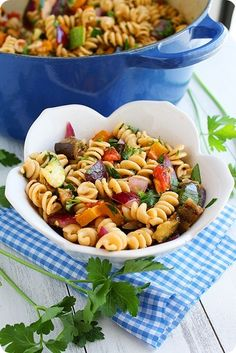 The Comfort of Cooking » Grilled Ratatouille Pasta