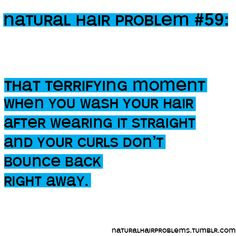 This is scary! I haven't straightened my hair and I want to! Uuuuuugh!