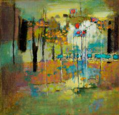 "Rick Stevens (Born 1958), ""Fusion Of Elements"" Oil Painting Abstract, Abstract Wall Art, Oil Paintings, Rick Stevens, Landscape Artwork, Contemporary Abstract Art, Art Abstrait, Art Plastique, Painting Inspiration"