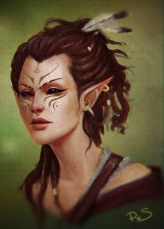 """pxelslayer: """" Ok, FINAL final version. Good god, I need to stop fiddling with my work and just sit down and DO IT. Fantasy Races, Fantasy Warrior, Fantasy Rpg, Fantasy Artwork, Elves Fantasy, Dnd Characters, Fantasy Characters, Female Characters, Character Creation"""