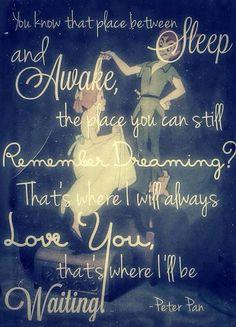 Where I'll always love you