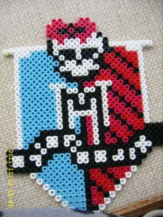 Monster High Hama beads by Obsessive ~ ♥ Cleo ♥