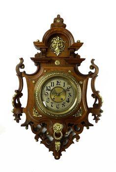Lenzkirch shield style wall clock