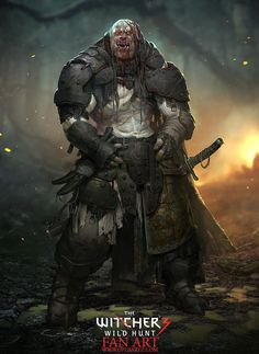 scifi-fantasy-horror:  Witcher 3 Fan Art - Ogre by BjornHurri