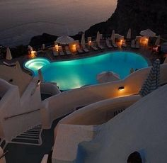 Meanwhile, somewhere in Santorini, Greece … * le sigh *