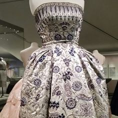 Dior exhibition at the Royal Ontario Museum.