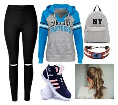 """""""Pantheres"""" by be-free-1d ❤ liked on Polyvore featuring adidas, Joshua's, women's clothing, women, female, woman, misses and juniors"""