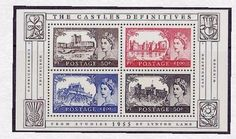 2005 - GB 50th Anniversary of the Castles Definitives Miniature Sheet MS2530 MNH