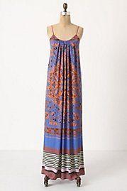 Great print Maxi dress