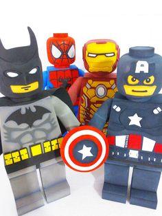 Bonecos Lego Vingadores (40cm)
