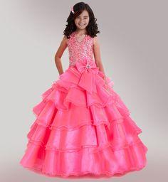 Girl formal dress  Gorgeous Girl Pageant Dress by abbyswardrobe, $135.00
