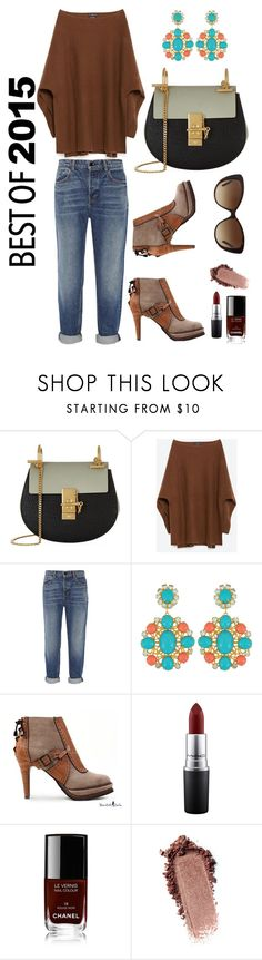 """Best of 2015 Casual Outfit"" by jesstyle80 on Polyvore featuring Chloé, Zara, Alexander Wang, MAC Cosmetics, Chanel and Bulgari"