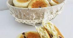 Cranberry cream cheese bun